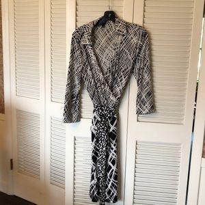 Ann Taylor Wrap Dress 12